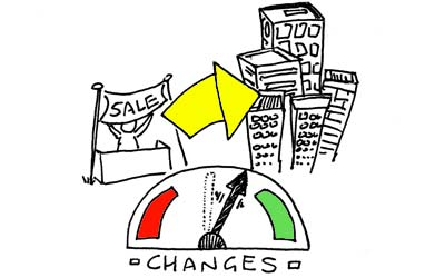 Small changes can revolutionise a business